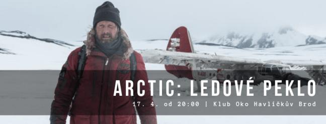 Mats Mikkelsen v hlavní roli dobrodružného dramatu Arctic: Ledové peklo vystoupí už ve středu 17. 4. od 20:00 v Klubu OKO Havlíčkův Brod