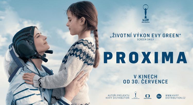 Eva Green v roli kosmonautky s dcerou ve filmu Proxima