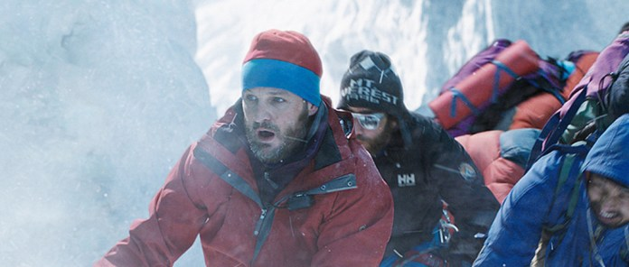 Jason Clarke and Cast attempt to summit Mt. Everest
