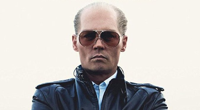 """Johnny Depp as James """"Whitey"""" Bulger gives his best performance in a while!"""