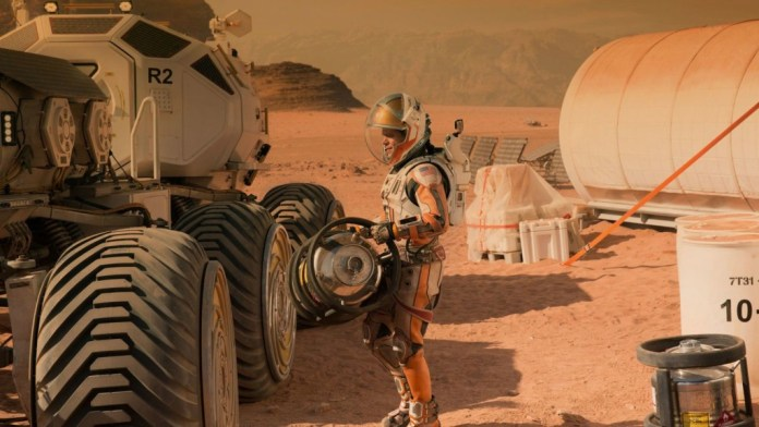 Matt Damon in and as The Martian