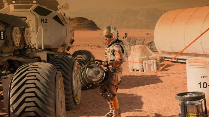 Matt Damon in and as The Martian