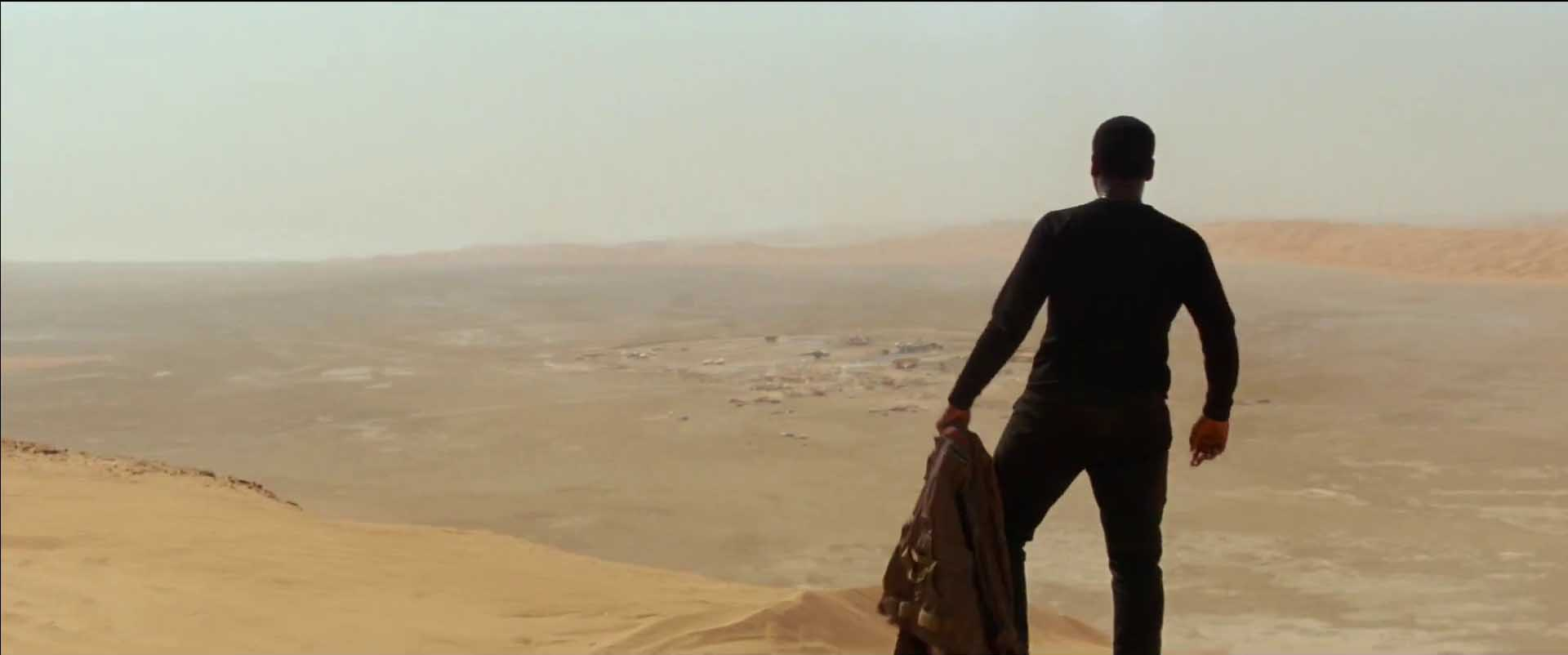 Star Wars The Force Awakens Finn on Jakku