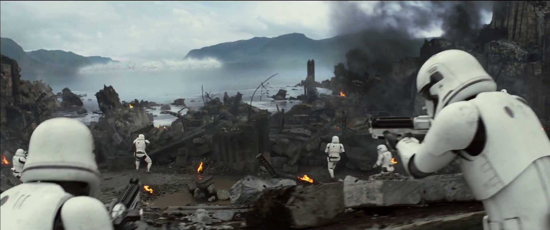 Star Wars The Force Awakens Battle Stormtroopers