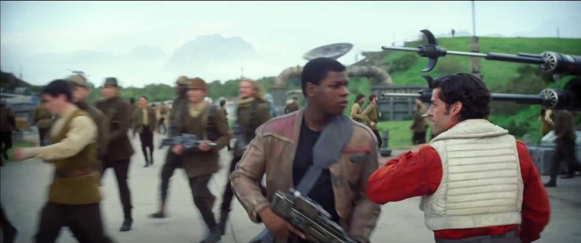 Star Wars The Force Awakens Finn and Poe