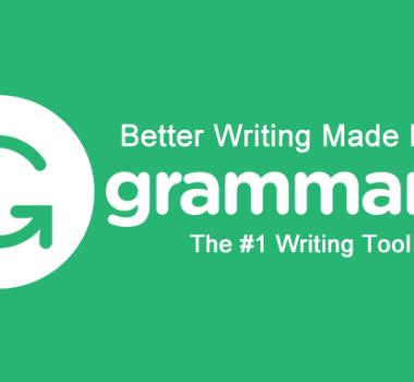 How Grammarly can make you a better filmmaker!