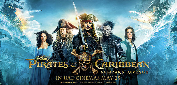 Image result for Pirates of the Caribbean: Salazar's Revenge poster