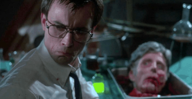 Re Animator Get A Job In Sideshow