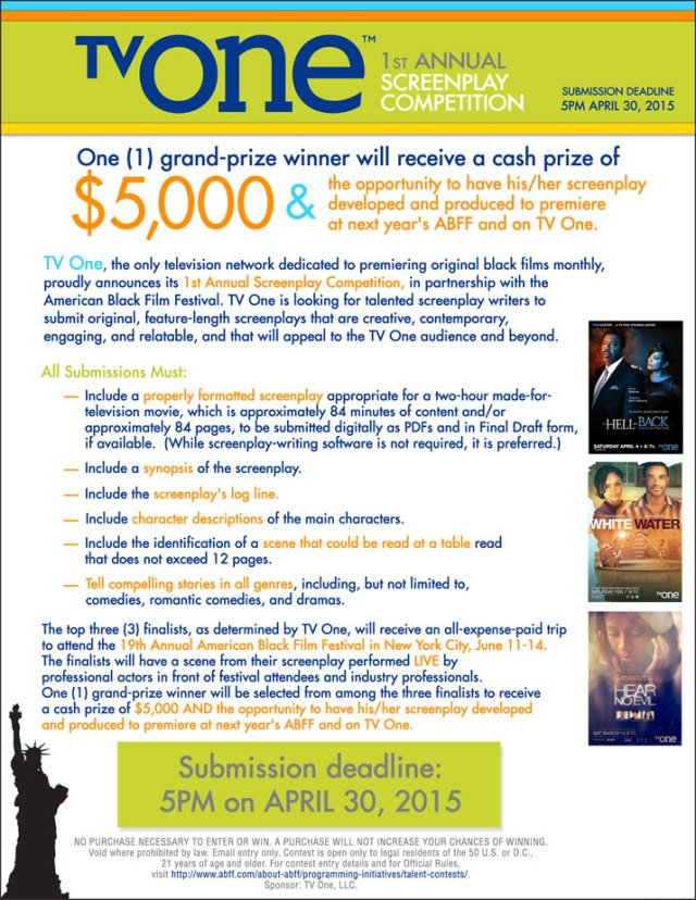 TV One Screenplay Competition