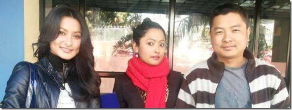 namrata with rajani and dayahang loafer
