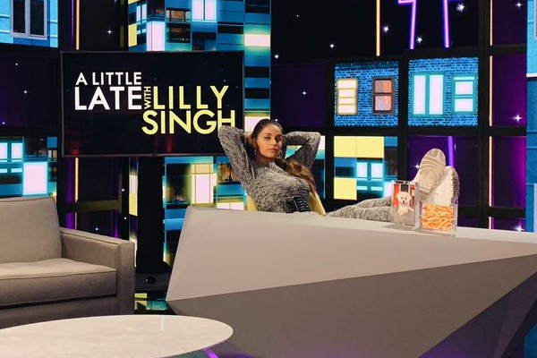 A Little Late With Lilly Singh still