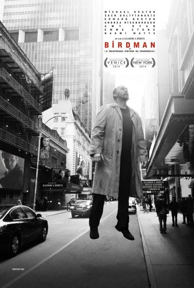 Poster do filme Birdman ou (A Inesperada Virtude da Ignorância)