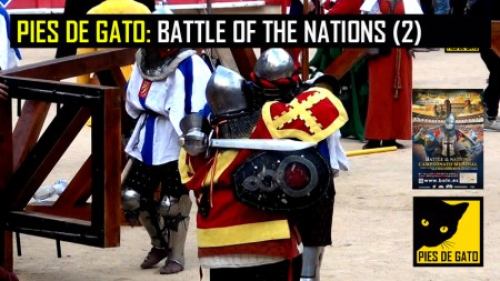 PIES DE GATO - BATTLE OF THE NATIONS 2 29-4-2017