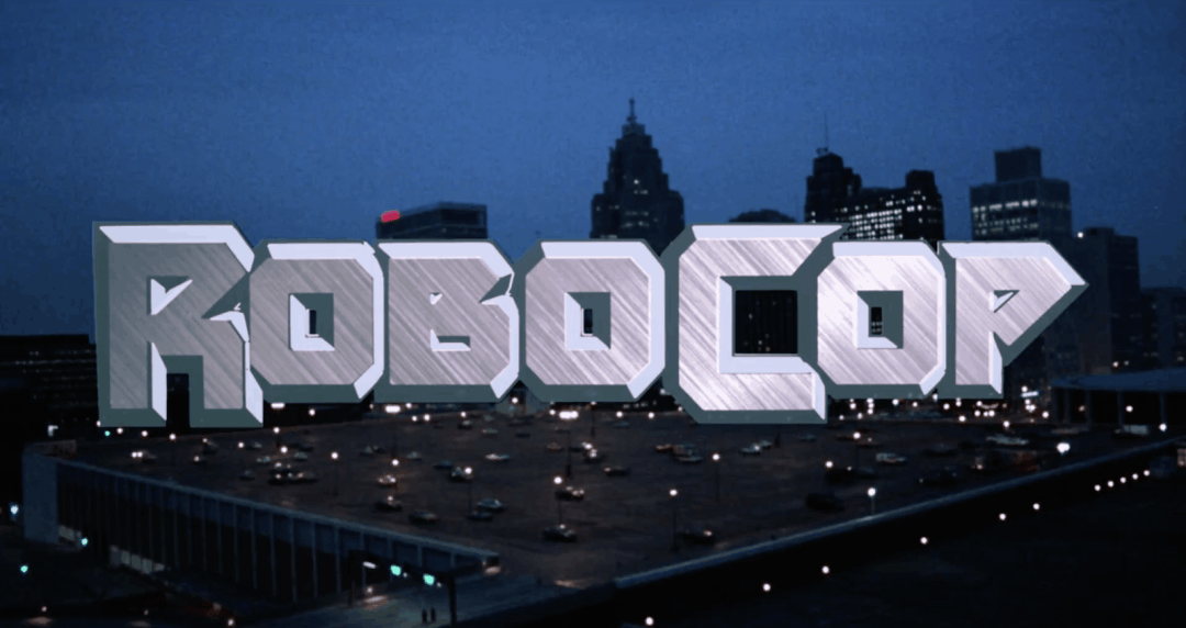 The Most Important Movie In The World RoboCop Title Card