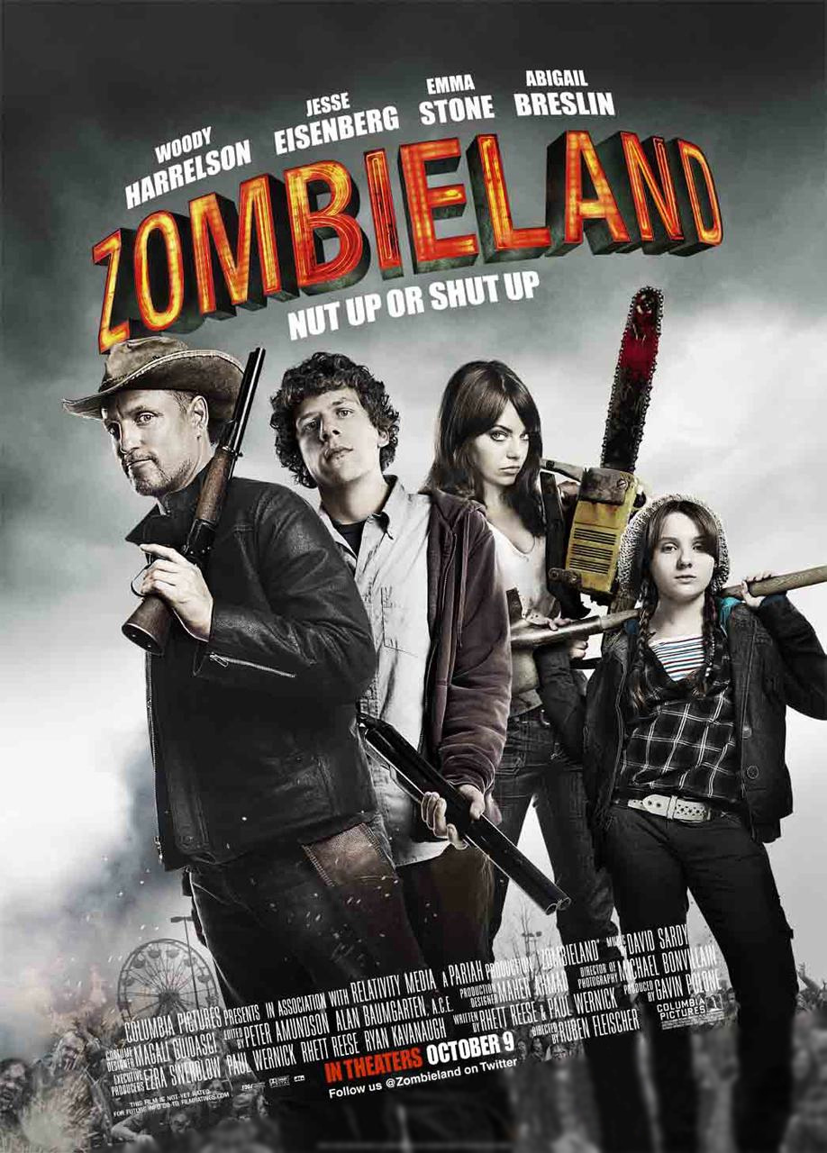 """Poster for """"Zombieland""""."""