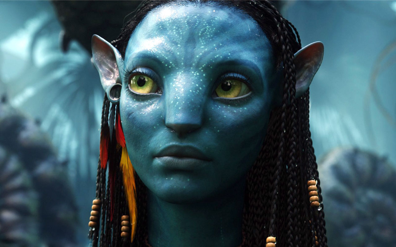 "Zoë Saldaña in ""Avatar"""