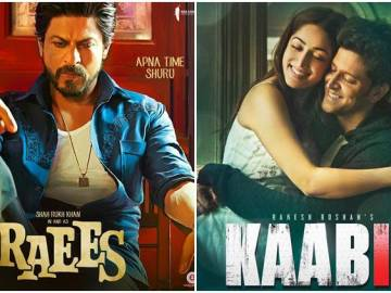 Raees and Kaabil overseas collection