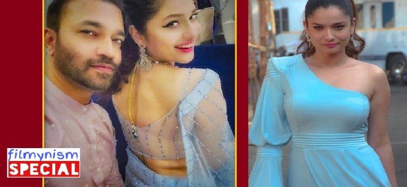 Ankita Lokhande with Her Boyfriend-Filmynism