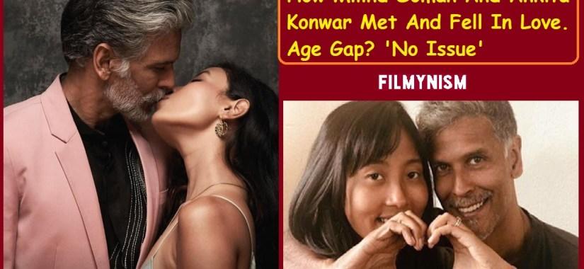 Milind Soman and Ankita Konwar-Filmynism