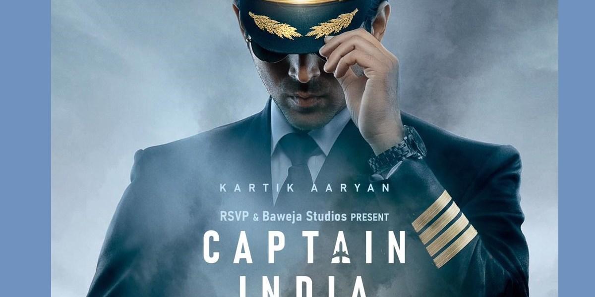 KartikAaryan in Captain India-Filmynism