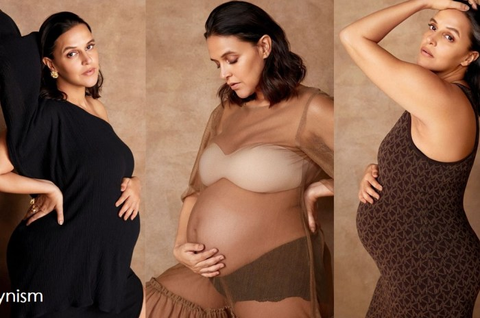 Neha Dhupia Pregnancy Photo-Filmynism