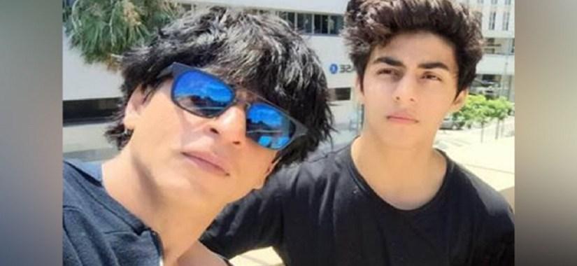 Shahrukh Khan and Son Aryan-Filmynism