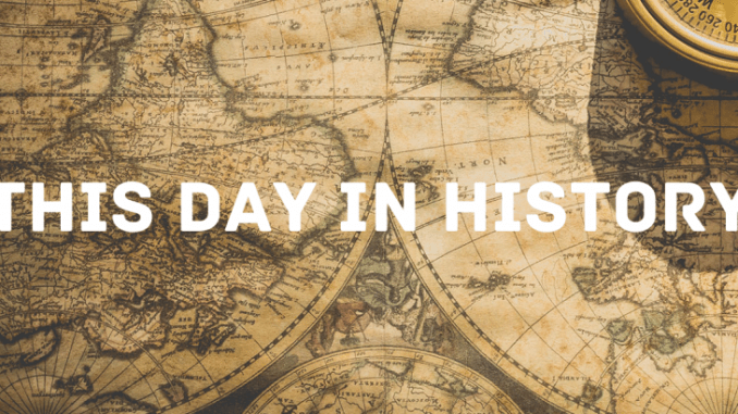 THIS DAY IN HISTORY - NOVEMBER 24