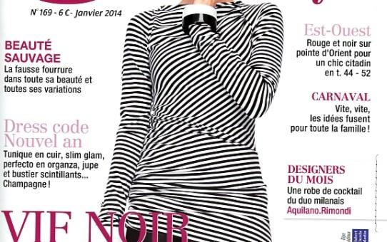 Burda Style de Janvier 2014 : ma sélection