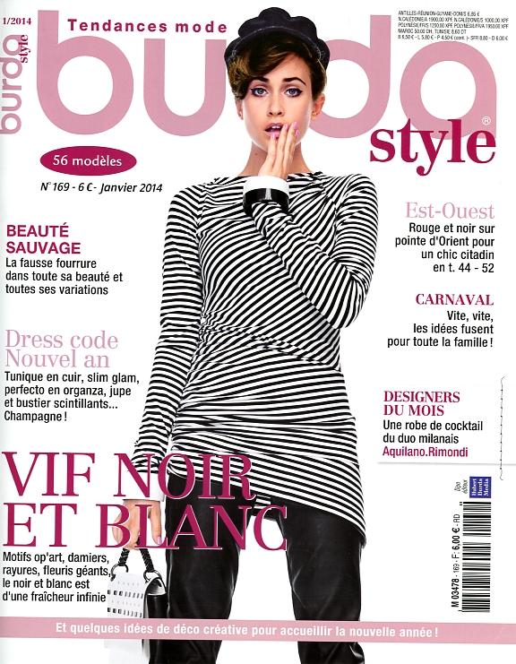 burda style janvier 2014 - Filomenn