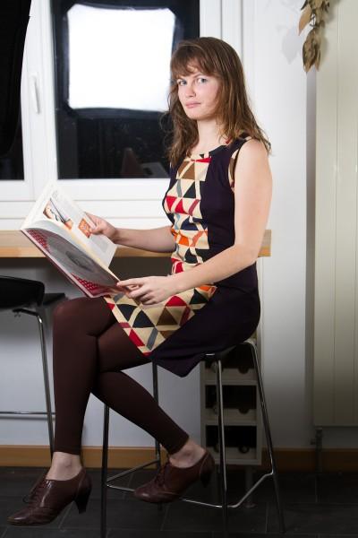 robe Chloé Malevitch - Filomenn