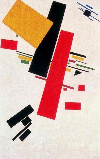 Malevitch - Suprématisme Dynamique