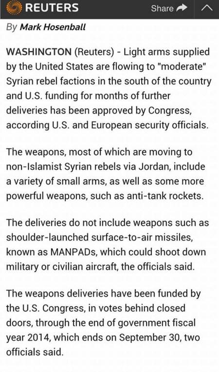 Εως και αντιαρματικούς πυραύλους παρέδωσαν οι ΗΠΑ στο ISIS