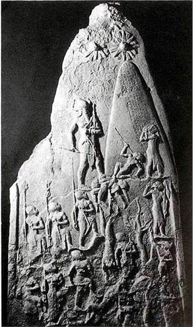 Ο Νεμρώδ απεικονίζεται δίπλα στον Πύργο