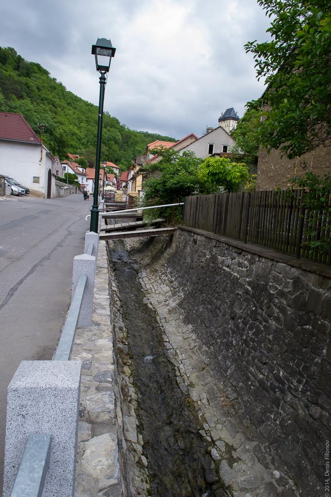 Средневековая канализация.