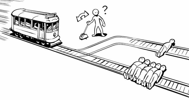 dilema do trem utilitarismo