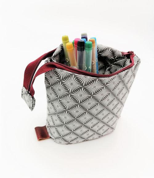 trousse coulissante avec crayons