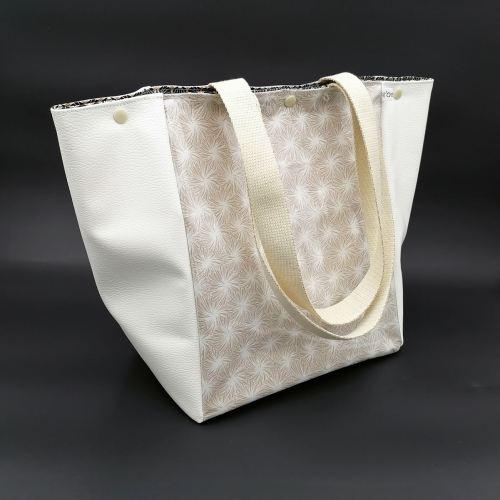 Grand sac isotherme blanc