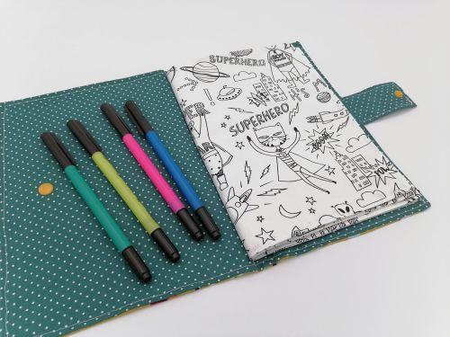 Cahier de coloriage lavable 1ère page