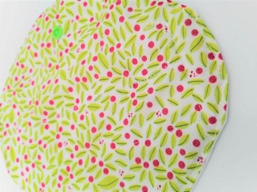 Serviette hygiénique lavable avec couture zig zag