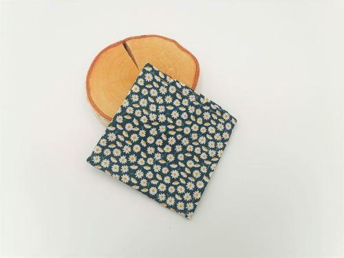 Mouchoirs en tissu marguerites