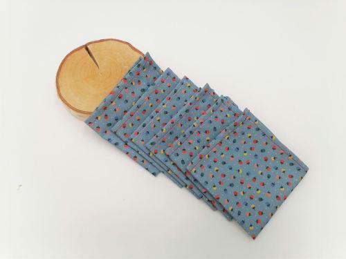 Mouchoirs en tissu petits fruits
