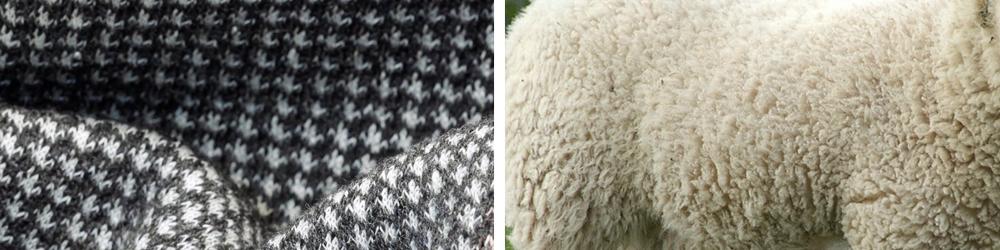 Tessuti naturali in lana