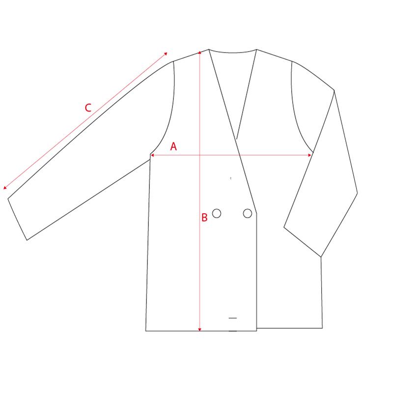 Filotimo cappotto doppiopetto 100% lana