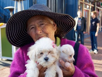 Puppy Lady in San Diego