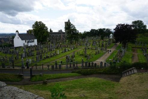 Graveyard near Stirling Castle
