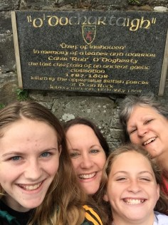 Bad attempt at a quadruple selfie