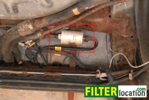 How to change the fuel filter on Pontiac Sunfire 19952005
