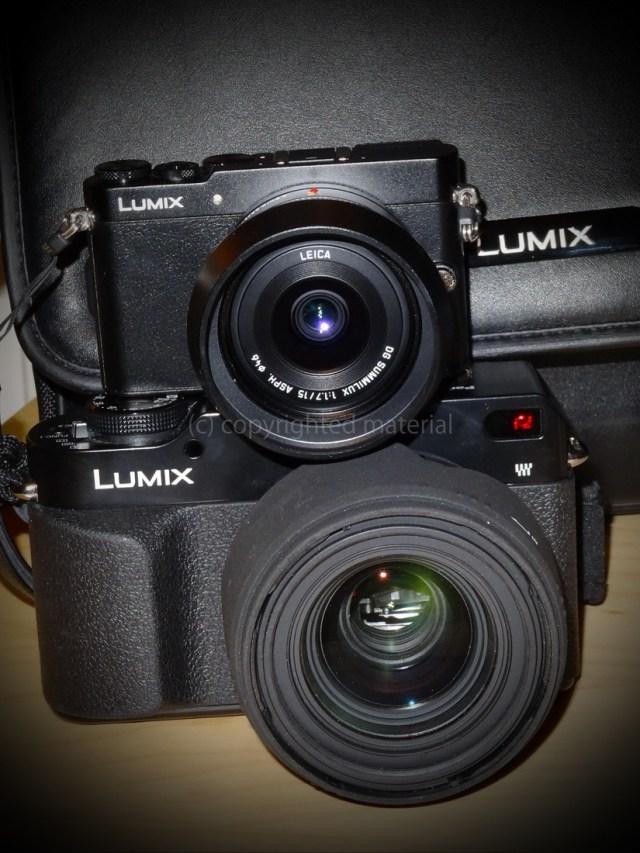 10 Jahre Lumix - kleiner ist technisch stärker Foto: M. Mahlke