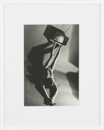 Jimmy DeSana, Television, 1978, black and white gelatin