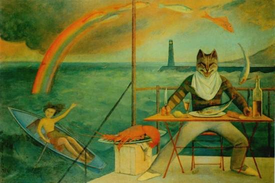 The Mediterranean Fish, Balthus, 1943